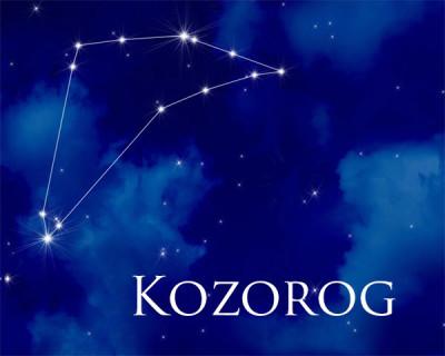 Horoskop Kozorog - astrološko znamenje